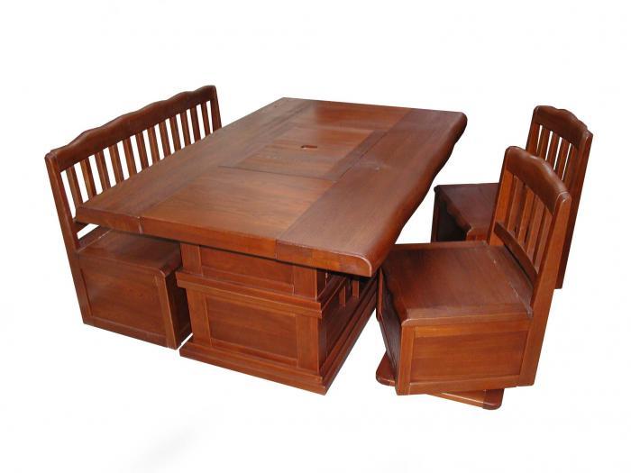 楡 炉端ダイニングセット うづくり家具テーブルセット476000円30